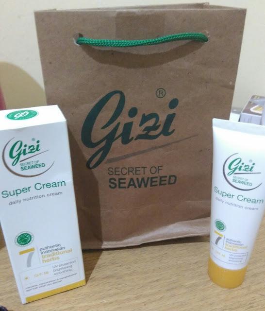 Gizi Daily Nutrition Cream dengan SPF 18