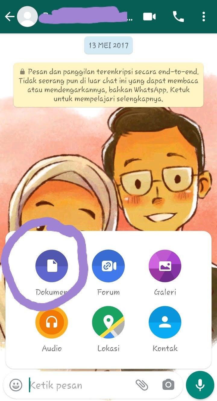 tutorial kirim gambar di whatsapp